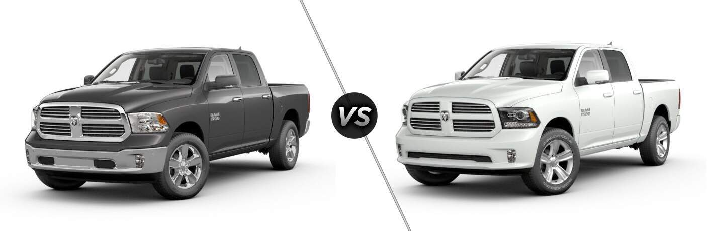 2017 Ram 1500 Big Horn vs Sport