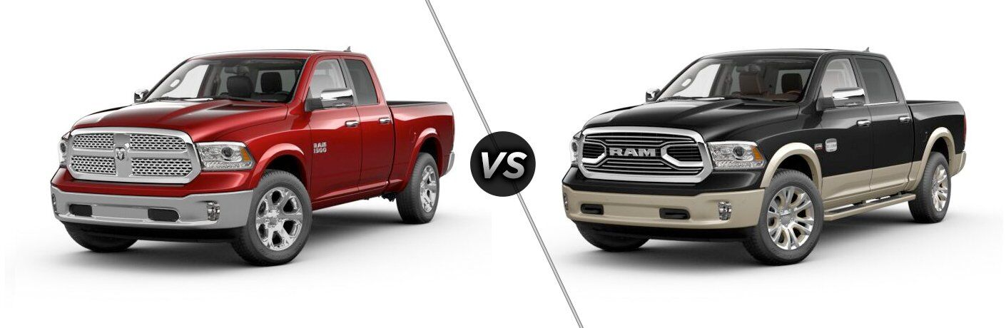 2017 ram 1500 laramie vs laramie longhorn. Black Bedroom Furniture Sets. Home Design Ideas