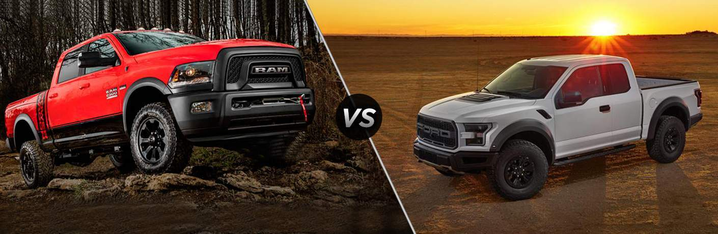 2017 Ram Power Wagon vs 2017 Ford Raptor