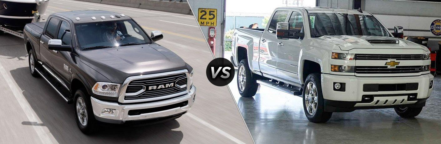 2017 Ram 2500 vs 2017 Chevy Silverado 2500HD