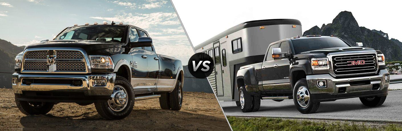 2017 Ram 3500 vs 2017 GMC Sierra 3500HD