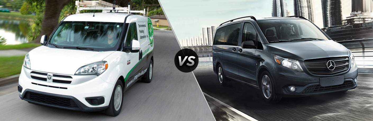 2017 Ram ProMaster City vs 2017 Mercedes-Benz Metris