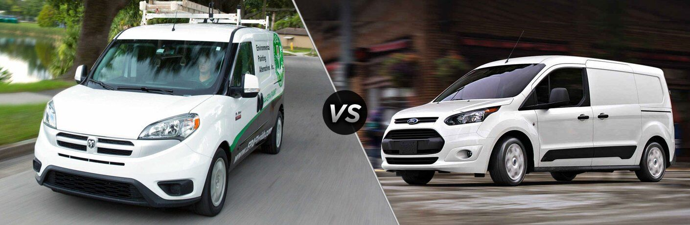 2017 Ram ProMaster City vs 2017 Ford Transit Connect