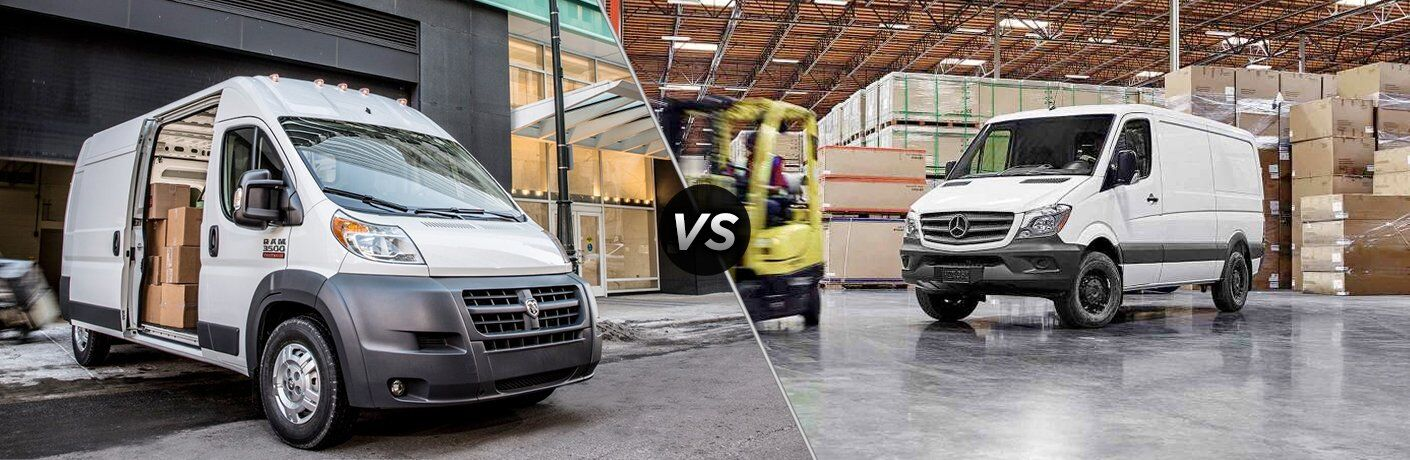 2017 Ram ProMaster vs 2017 Mercedes-Benz Sprinter