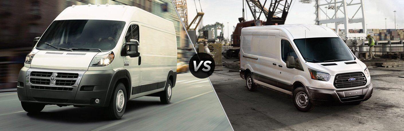2017 Ram ProMaster vs 2017 Ford Transit
