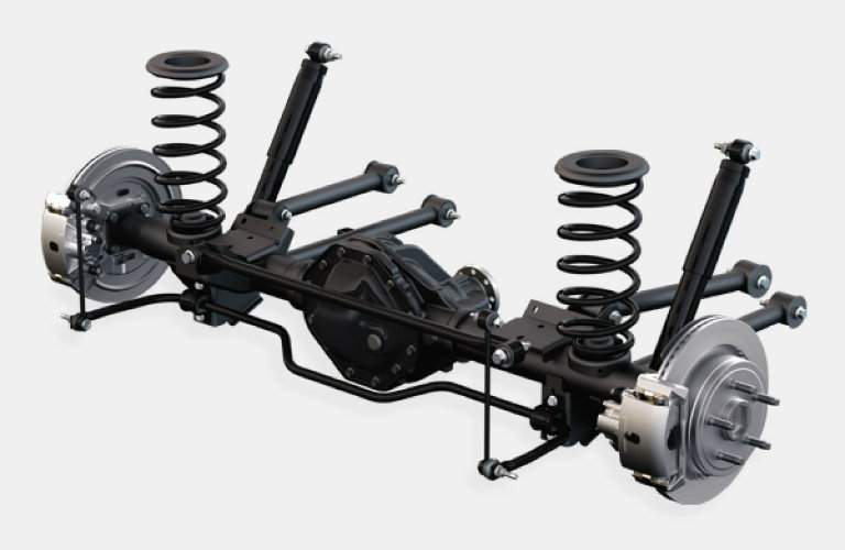suspension system available the 2017 Ram 1500 Sport and Big Horn