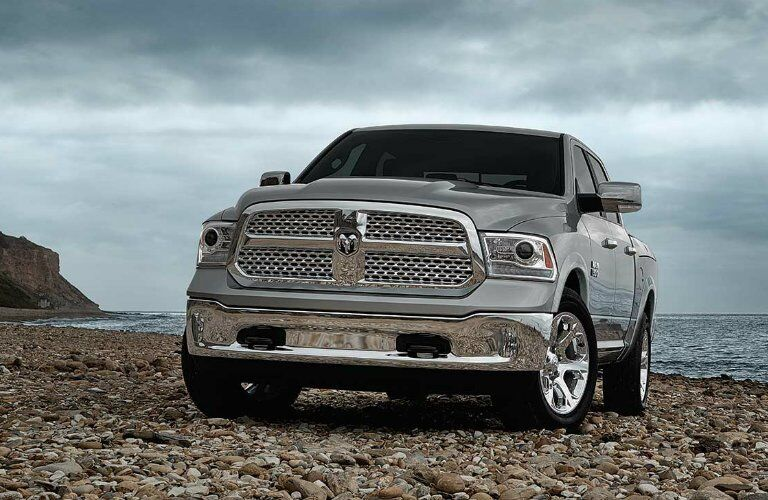 2017 Ram 1500 at the beach