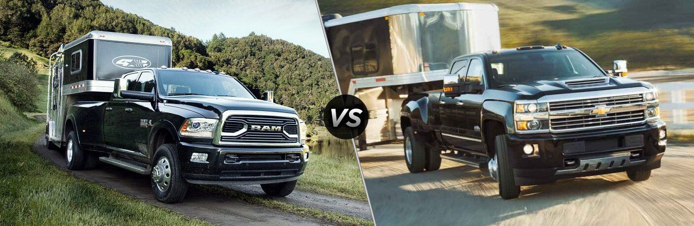 2017 Ram 3500 vs 2017 Chevy Silverado 3500HD