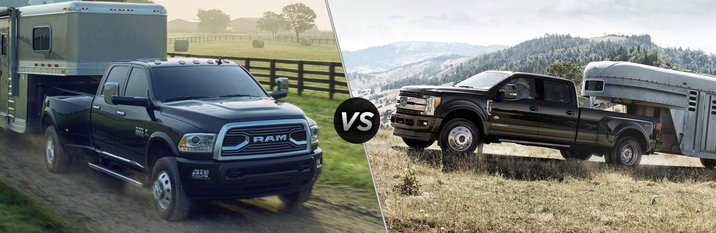 2017 Ram 3500 vs 2017 Ford F-350