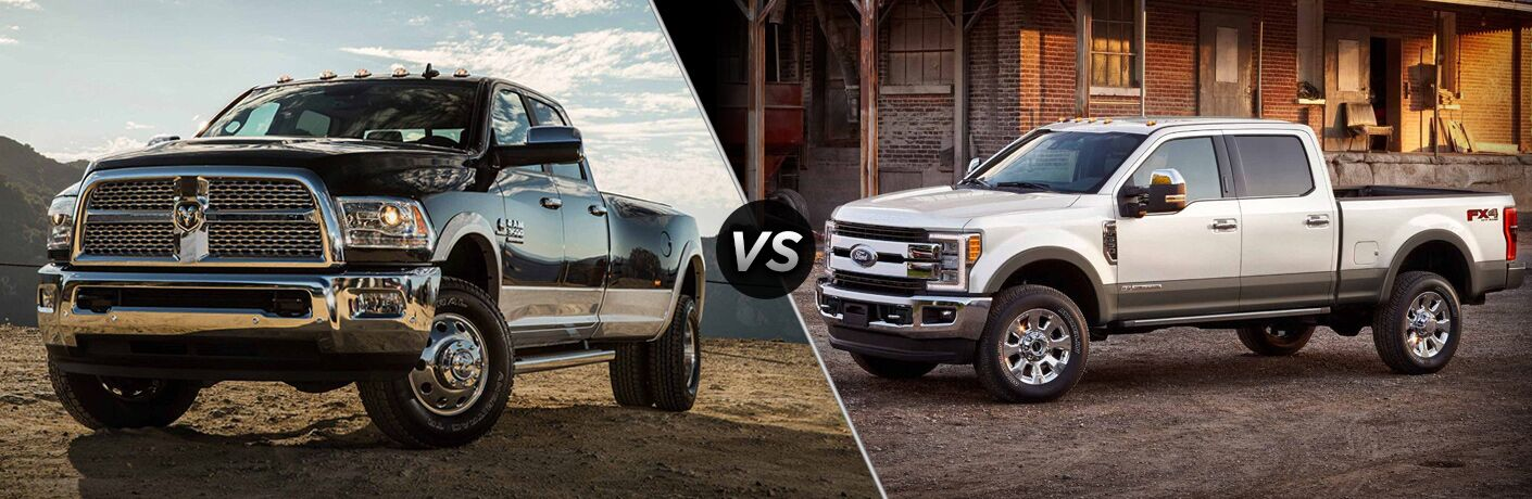 2018 Ram 3500 vs 2018 Ford F-350 comparison image