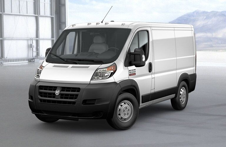 base trim of the 2018 Ram ProMaster Cargo Van