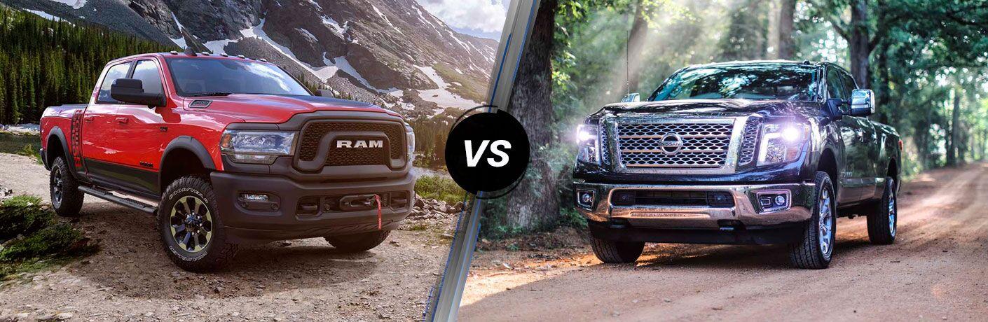 2019 Ram 2500 vs 2019 Nissan Titan XD