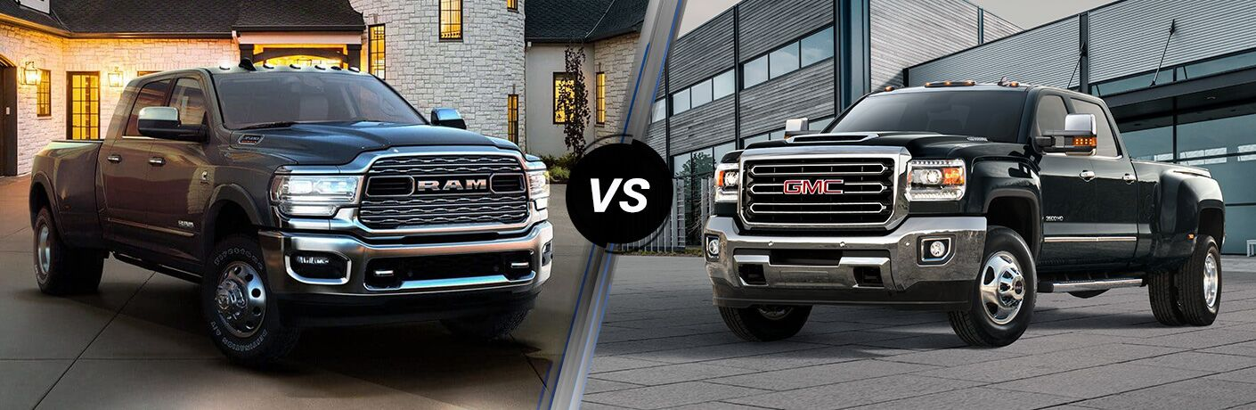 2019 Ram 3500 vs 2019 GMC Sierra 3500HD
