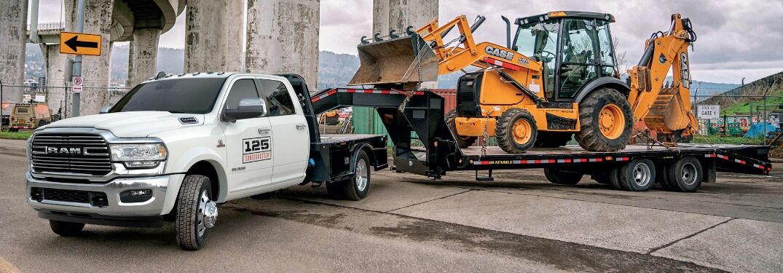 2019 Ram 5500 Chassis Cab hauling machinery