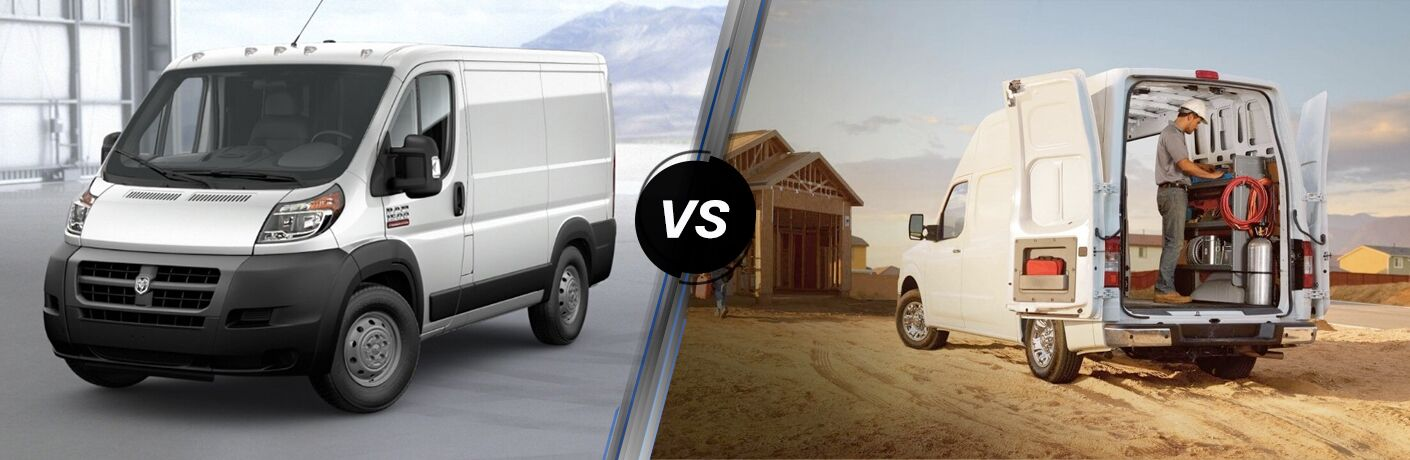 2019 Ram ProMaster Cargo Van vs 2019 Nissan NV Cargo Van comparison image