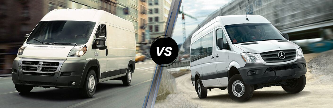 2019 Ram ProMaster vs 2019 Mercedes-Benz Sprinter comparison image