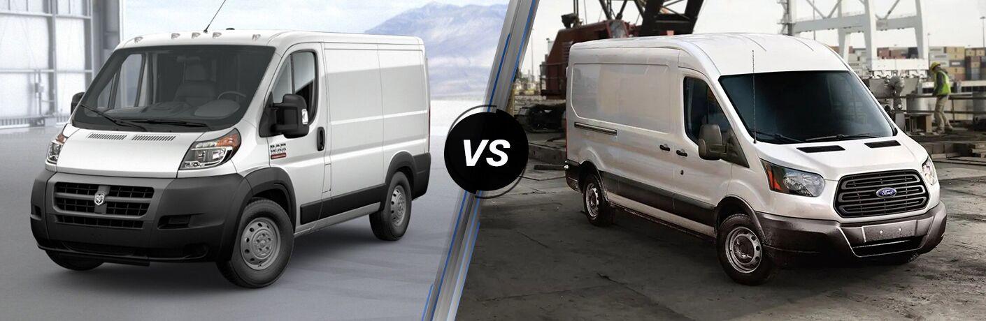 2019 Ram ProMaster vs 2019 Ford Transit