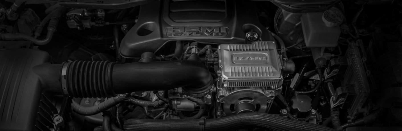HEMI 5.7-liter V-8 engine with eTorque on the 2019 Ram 1500