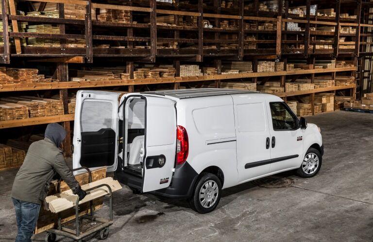 2019 Ram ProMaster City Cargo Van being loaded