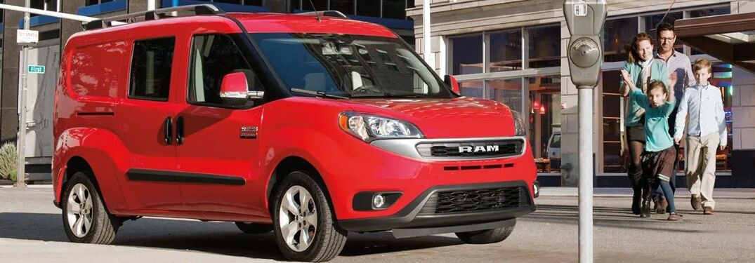 2019 Ram ProMaster City Passenger Wagon by family