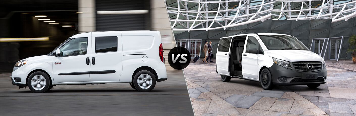 2019 Ram ProMaster City vs 2019 Mercedes-Benz Metris