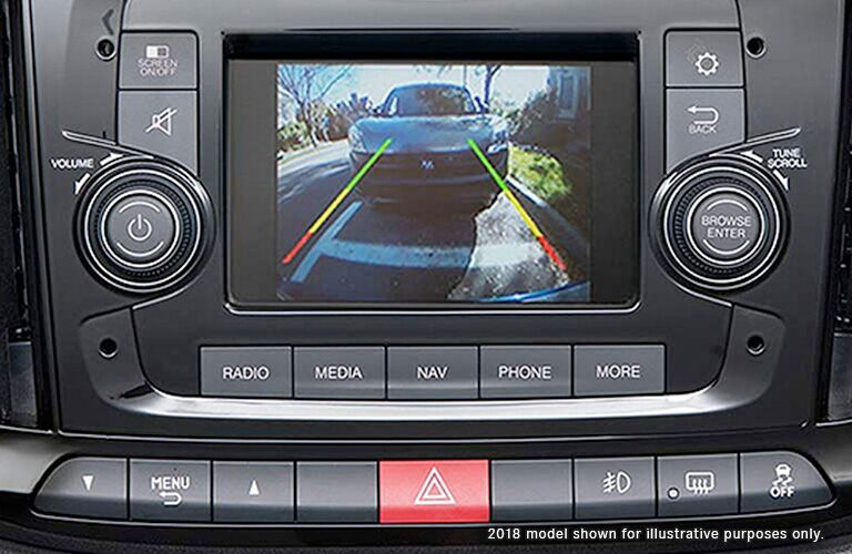 2019 Ram ProMaster back-up camera