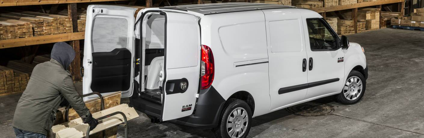 2019 Ram ProMaster City Cargo Van being loaded