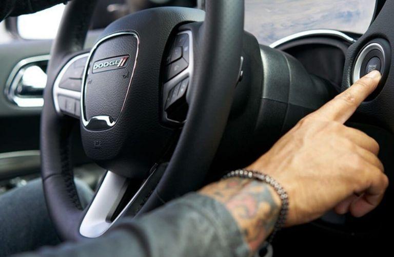 2020 Dodge Durango steering wheel and push-button start