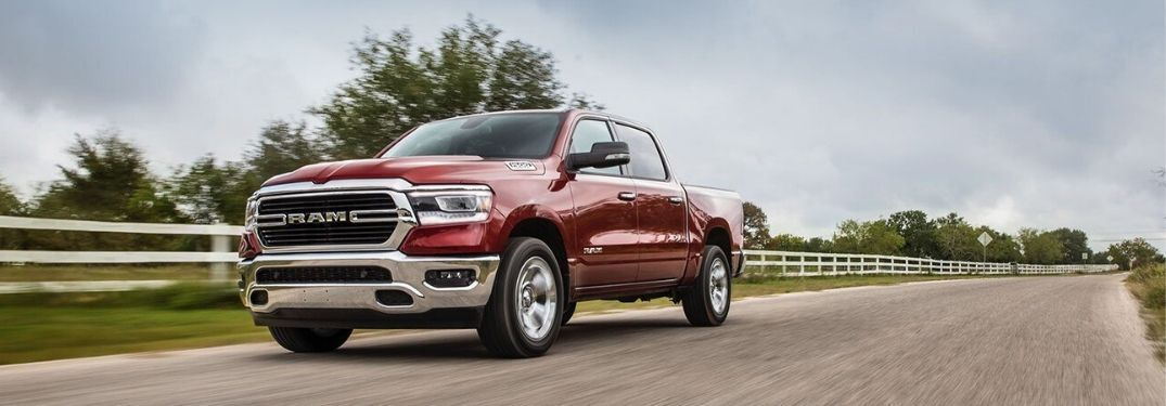2020 Ram 1500 Big Horn® on country road