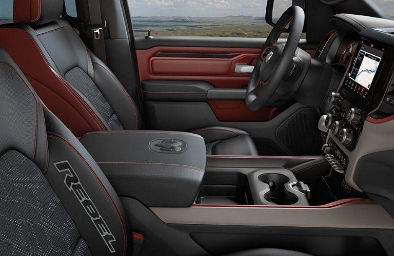 2020 Ram 1500 Rebel® front seats