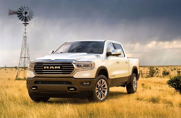2020 Ram 1500 on grassy plain