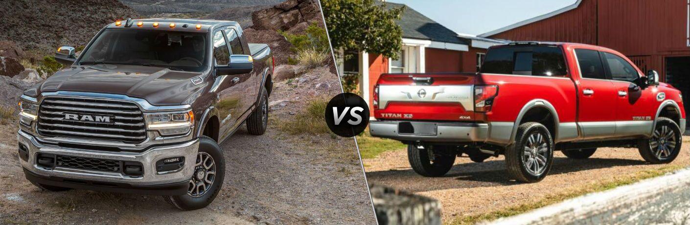 2020 Ram 2500 vs 2020 Nissan Titan XD