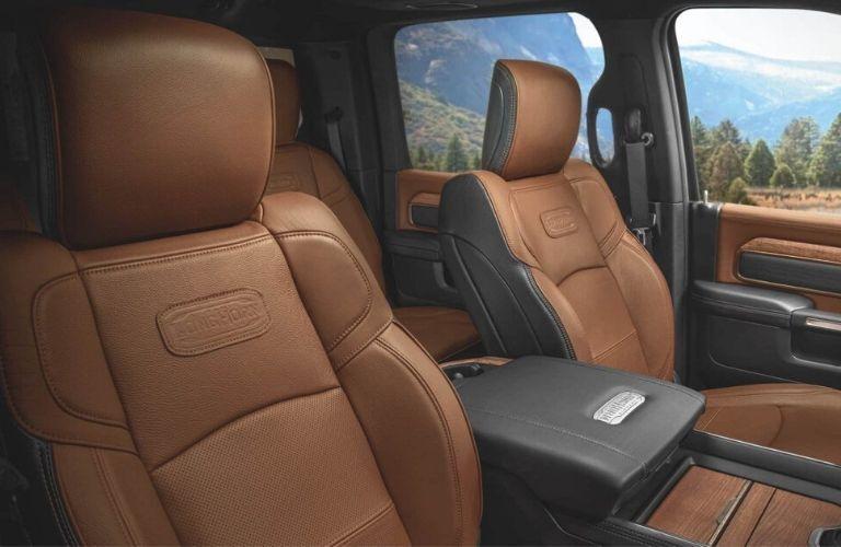 2020 Ram 2500 Laramie Longhorn interior front seats