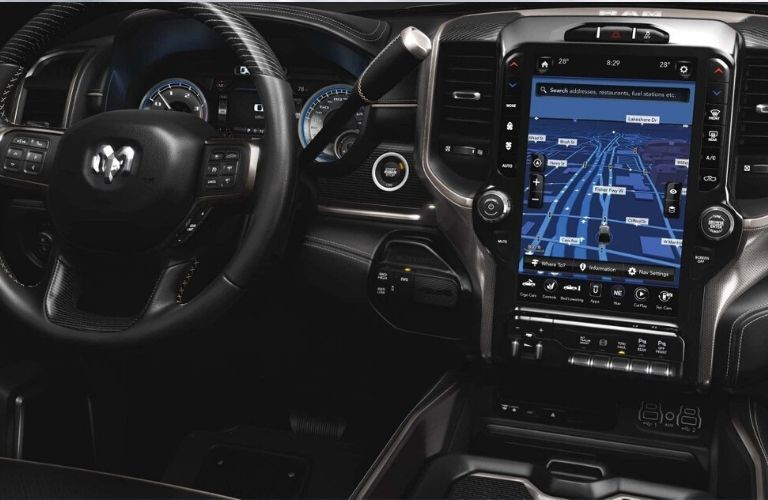 2020 Ram Chassis Cab dashboard