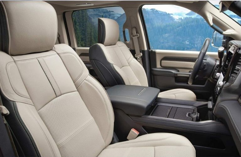 2020 Ram Chassis Cab front seats