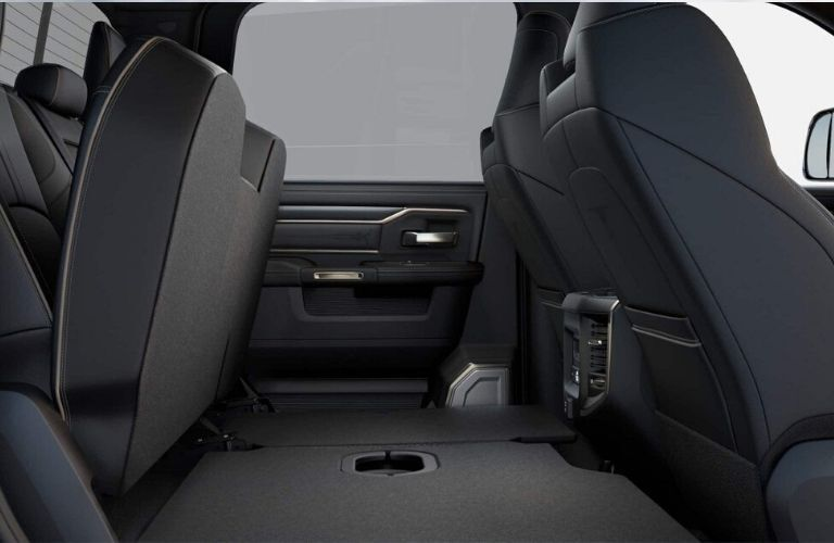 2020 Ram Chassis Cab rear cabin storage