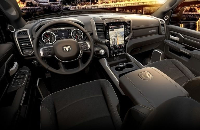 2020 Ram Heavy Duty Dashboard and Steering Wheel