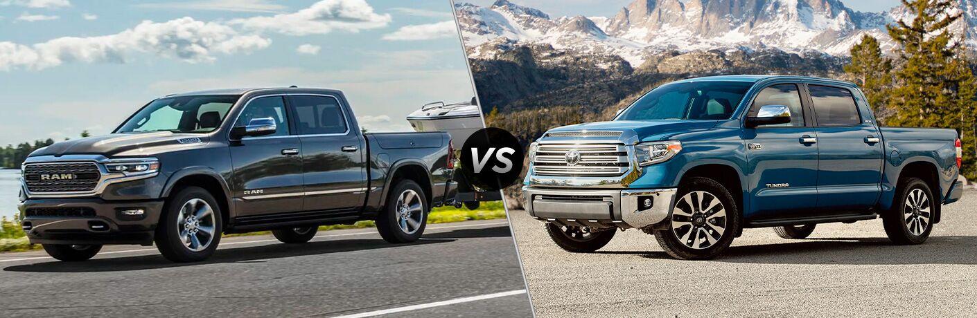 2021 Ram 1500 vs 2021 Toyota Tundra