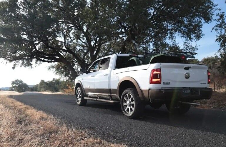 2021 RAM 2500 on country road