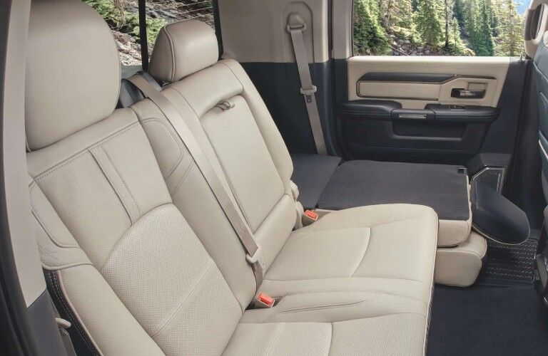 2021 RAM 2500 interior rear seats