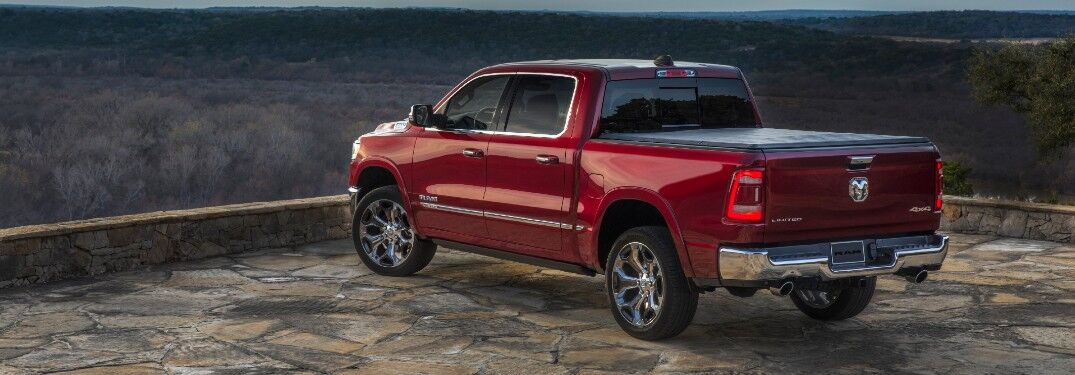 2021 Ram 1500 by scenic forest view