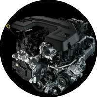 3.6-liter V-6 engine with eTorque on the 2019 Ram 1500