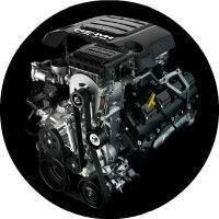 5.7-Liter V8 engine