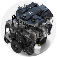 6.7-liter diesel engine