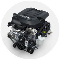 6.4-Liter heavy-duty engine