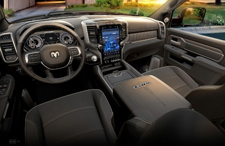 Interior view of 2019 Ram 2500 Limited