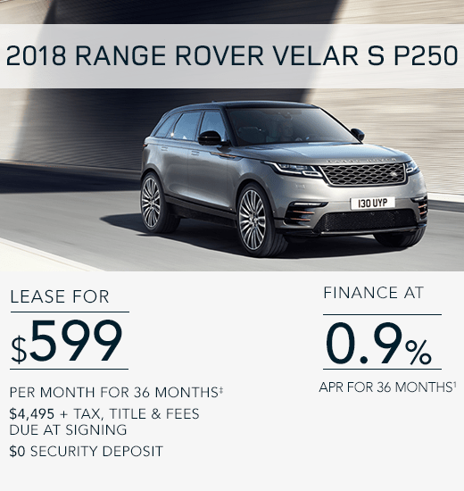 Land Rover San Jose Special Offers