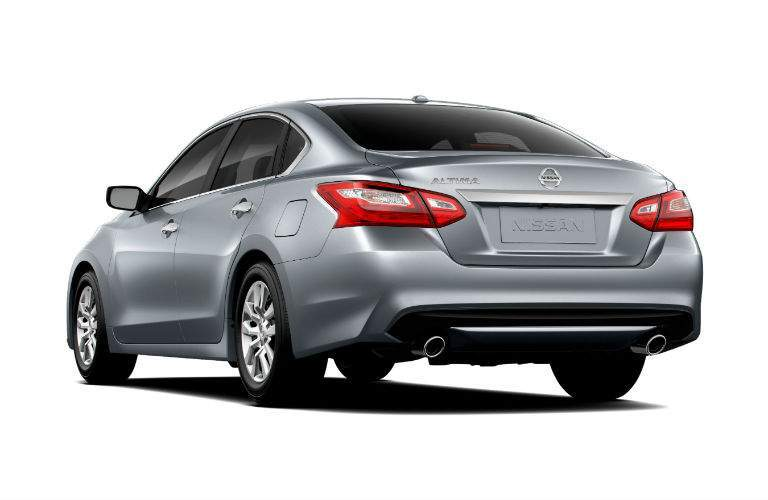 gray 2018 Nissan Altima back side view
