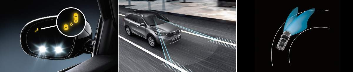kia suvs safety and technology features