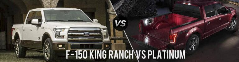 2016 Ford F-150 King Ranch vs Platinum